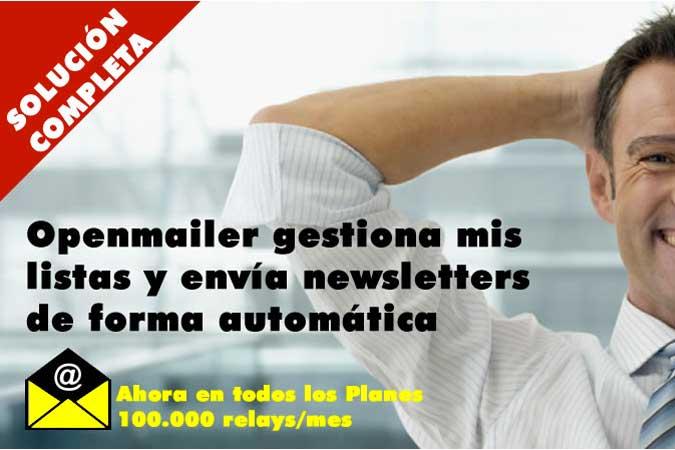 Openmailer, la plataforma completa para envío de newsletters